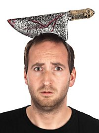 Beil im Kopf Accessoire