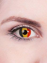 Belgium Flag Contact Lenses