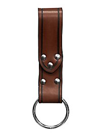 Belt Loop with Ring brown