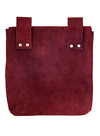 Belt Pouch large wine red