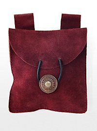 Belt Pouch wine red