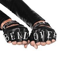 Bend Over fingerlose Handschuhe