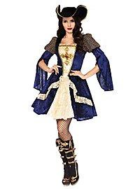Bezaubernde Musketierin Kostüm