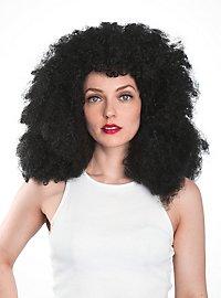 Big Afro Perücke schwarz