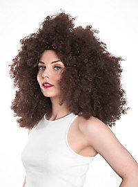 Big Afro Wig brown