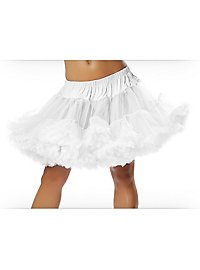Big Petticoat white short