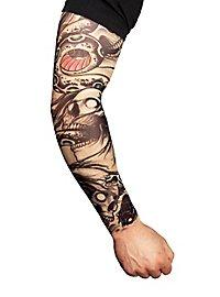 Biker Tattoo Skin Ärmel