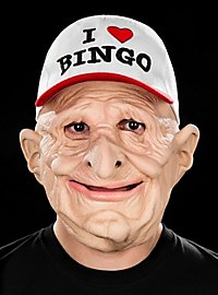 Bingo Fan Latex Mask