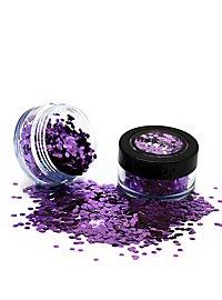 BioShades Glitter Parma Violet biodegradable