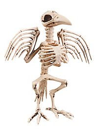 Bird Skeleton Halloween Deco