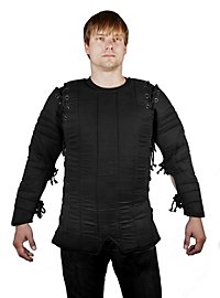 Black Gambeson with Arm Lacing