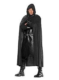 Black hood cape
