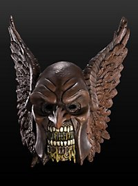 Black Lantern Hawkman Maske aus Latex