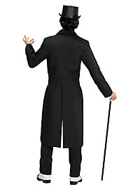Black men's tail coat