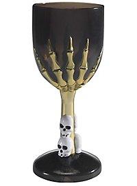 Black skull cup