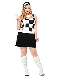 Black-White XXL Costume