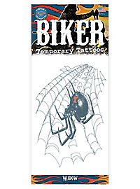 Black Widow Klebe-Tattoo