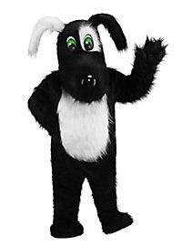 Blackie the Dog Mascot