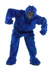 Blauer Gorilla Kostüm