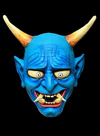 Blauer Oni Dämon Maske