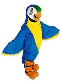 Blauer Papagei Maskottchen