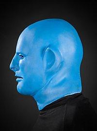 Blaues Phantom Maske aus Schaumlatex