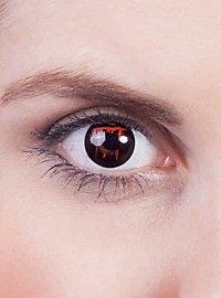 Bleeding Eye black Prescription Contact Lens