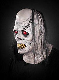 Bleicher Ghul Maske aus Latex