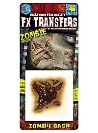 Blessure de zombie 3D FX Transfers