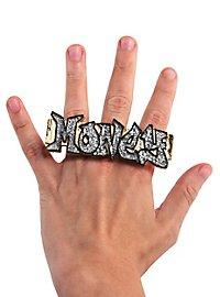Bling-Bling Ring silber