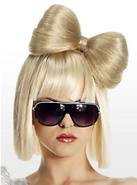Blond Hair in Bow