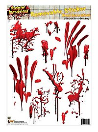 Bloodbath Tile Sticker Halloween Deco