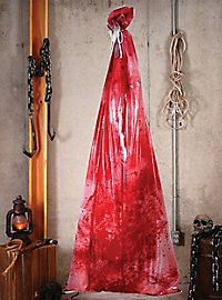 Bloody Body Bag Hanging Decoration