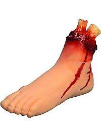 Bloody Cutoff Foot
