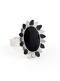 Blossom Ring black