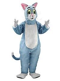 Blue Cat Mascot