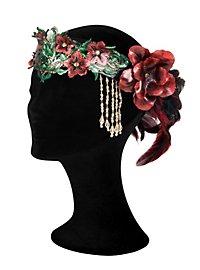 Blütenfee Krone aus Leder