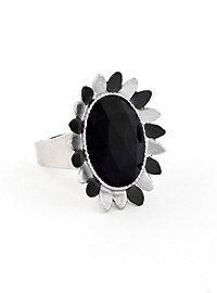Blütenring schwarz