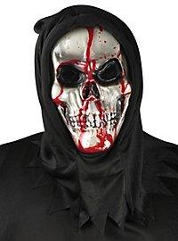 Blutende Skelett Maske