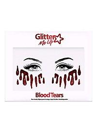 Blutige Tränen Gesichtsschmuck