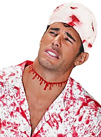 Blutiger Verband