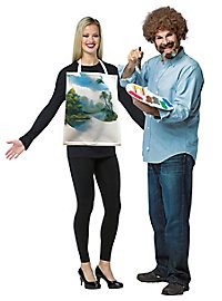 Bob Ross pair costume