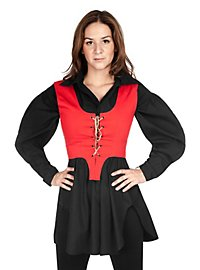 Bodice with Lacing red