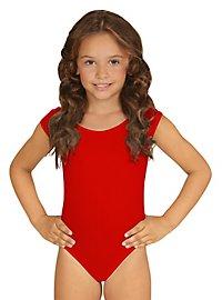Body rouge pour enfant