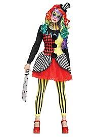 Böse Harlekina Kostüm
