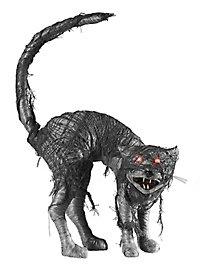 Böse Katze Halloween Deko