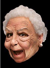 Böse Nanny Deluxe Kinnlose Maske