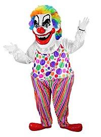 Böser Clown Maskottchen