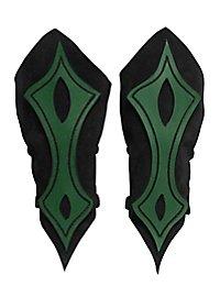 Armschienen - Bogenschütze grün