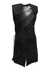 Bogenschütze Lederrüstung schwarz